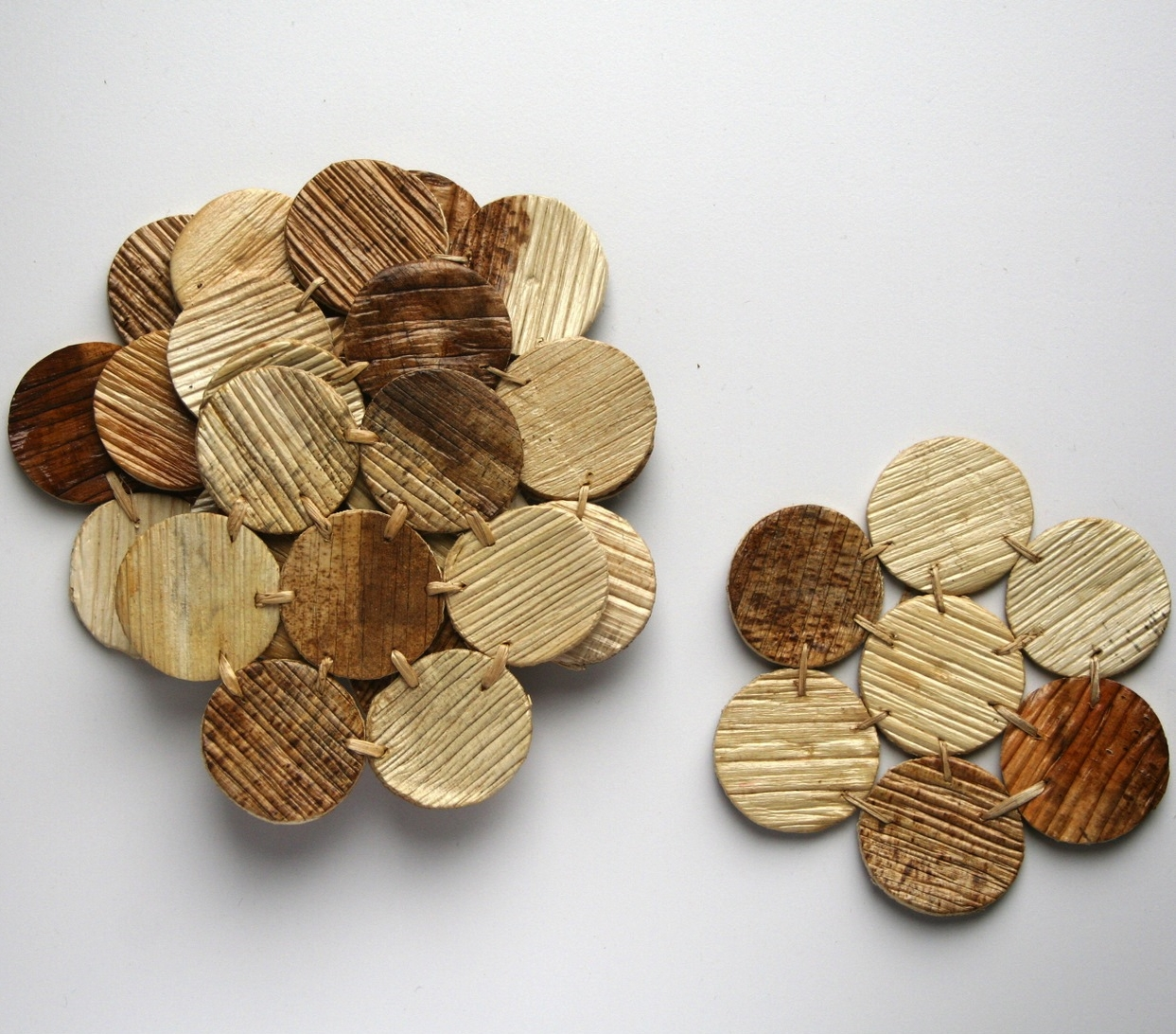Anise Coasters by Sustainable Threads