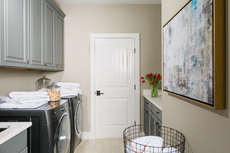 HGTV Smart Home Laundry ROom