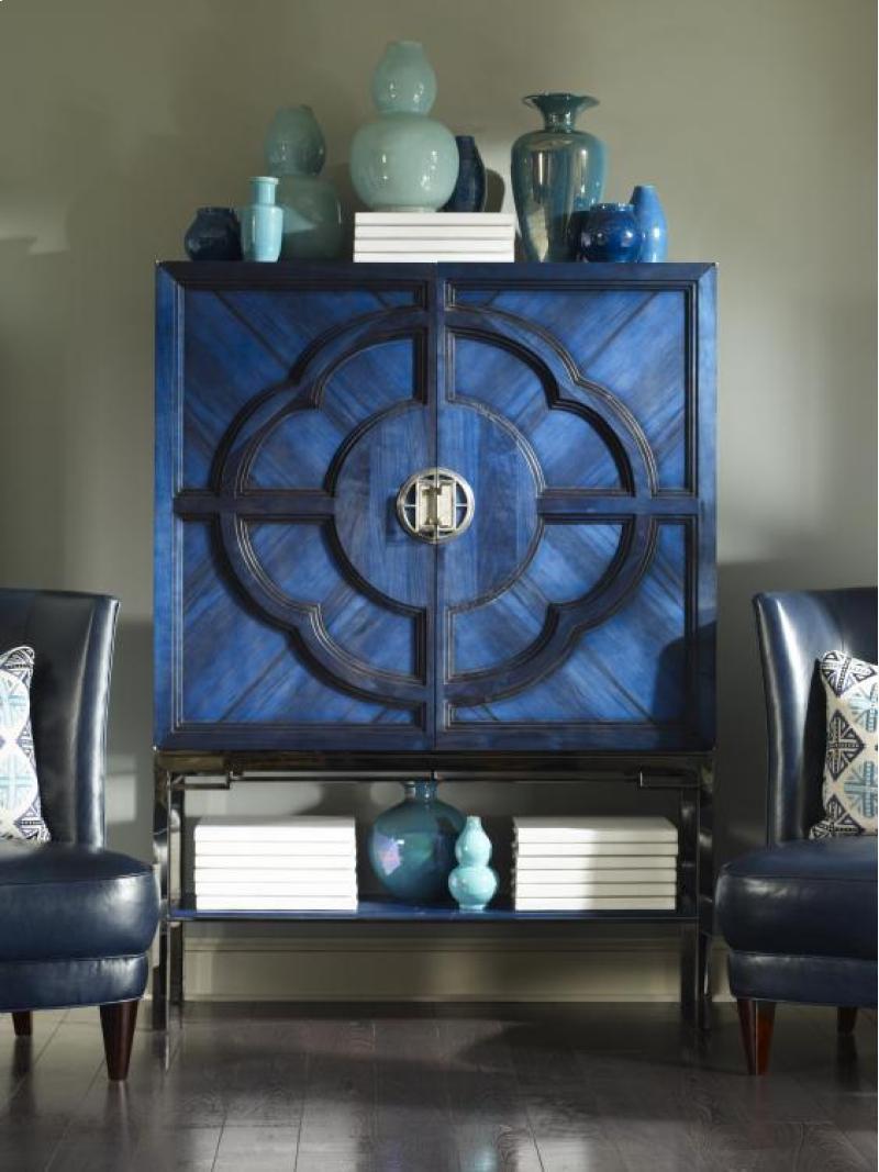Century Furniture Lotus Bar Cabinet