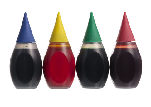 Food coloring may look pretty, but it's derived from coal tar. Not something I want in my body!