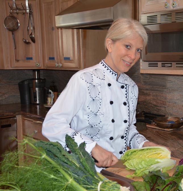 Joni Sare, therapeutic chef extraordinaire