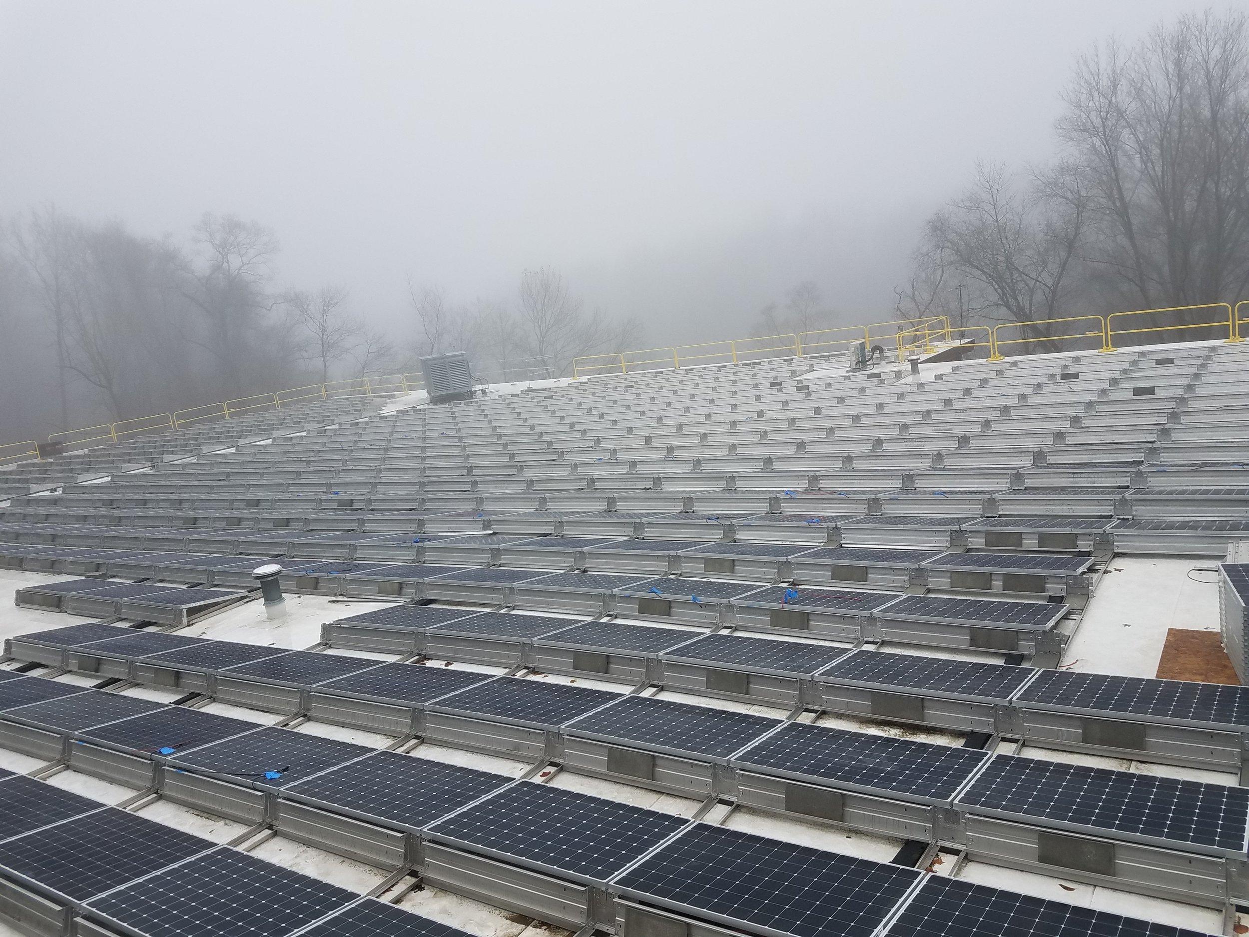 Solar Panels installed 2018