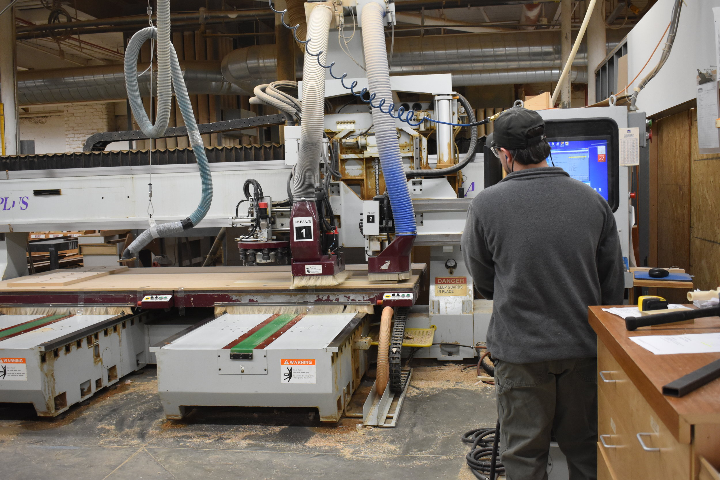 CNC in Operation
