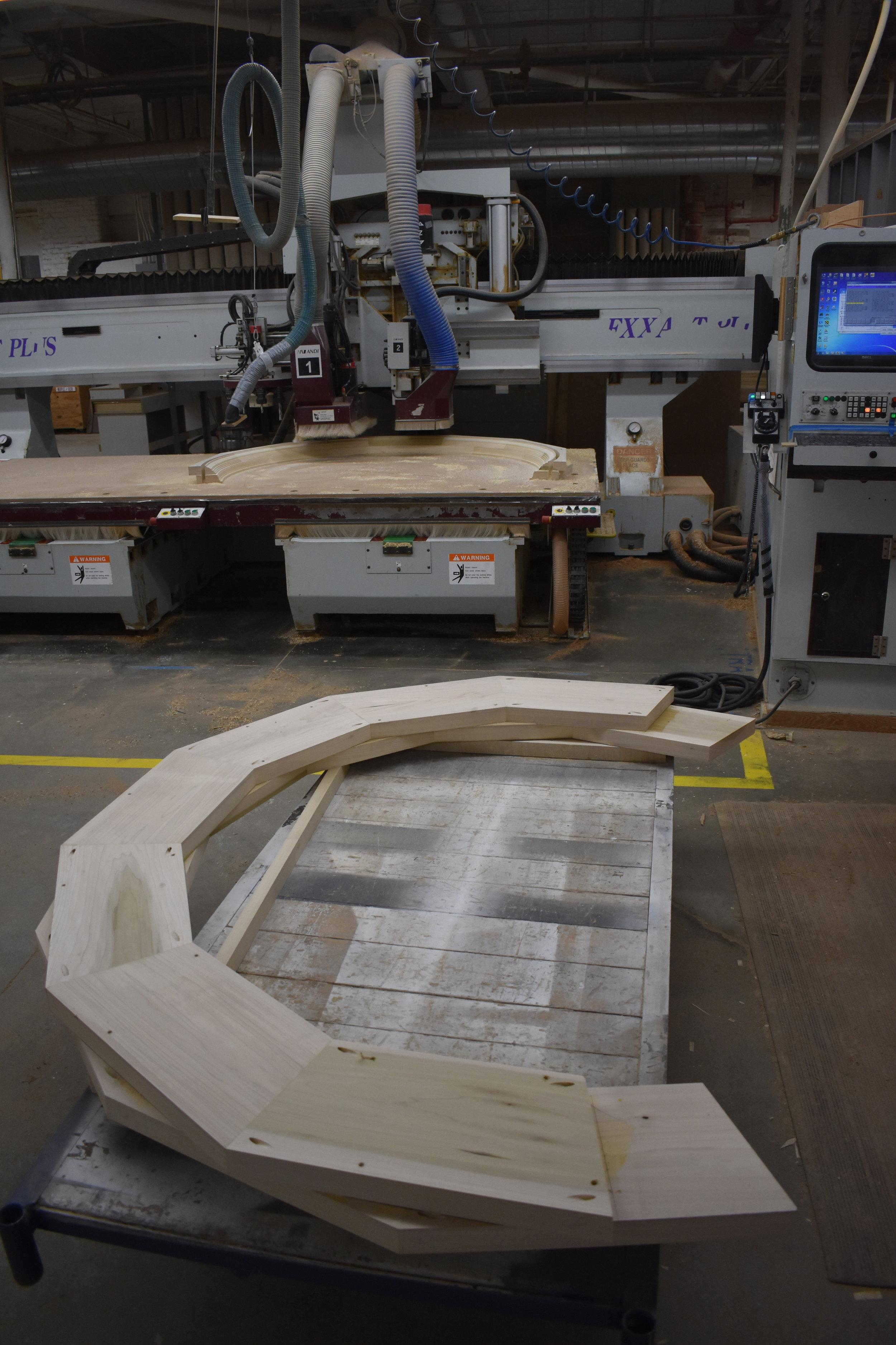 Blank for CNC arch