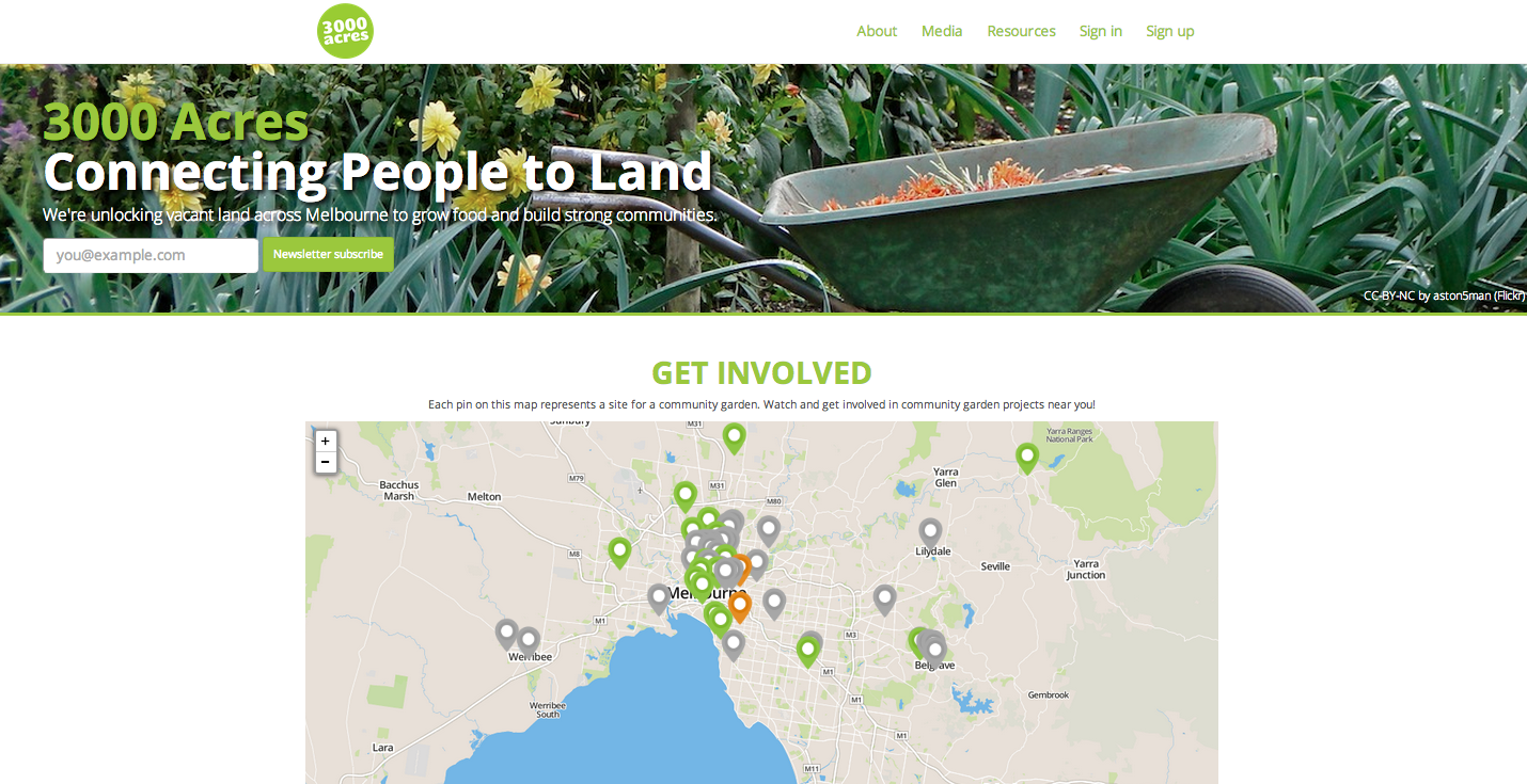 3000 Acres website including participatory map of interest in vacant sites.png