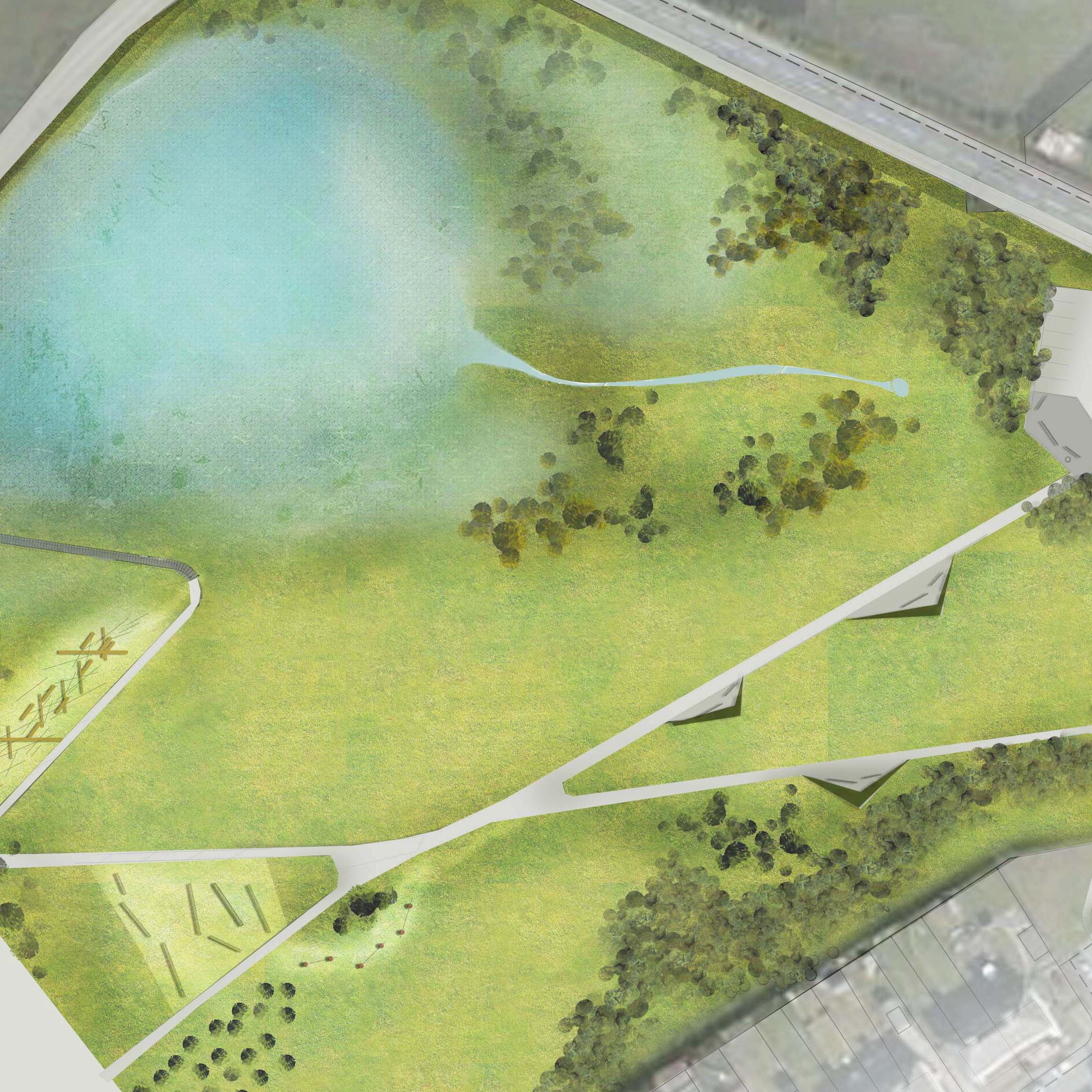 Glenboig park design  DESIGN