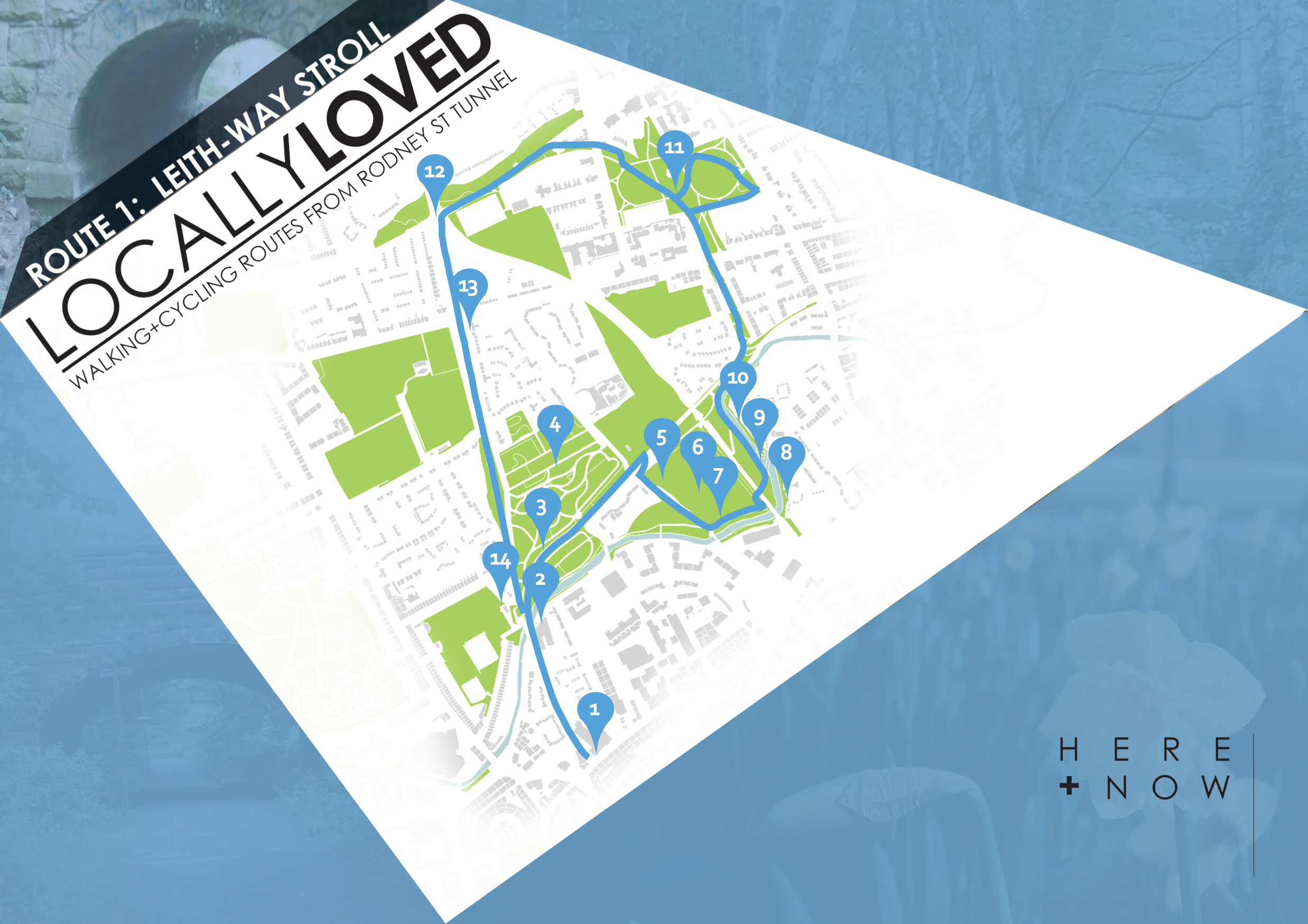 HERE+NOW_Locally Loved Routes_Route 1 front