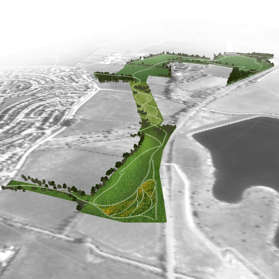 Barrhead South Greenspace Design  ENGAGE | DESIGN