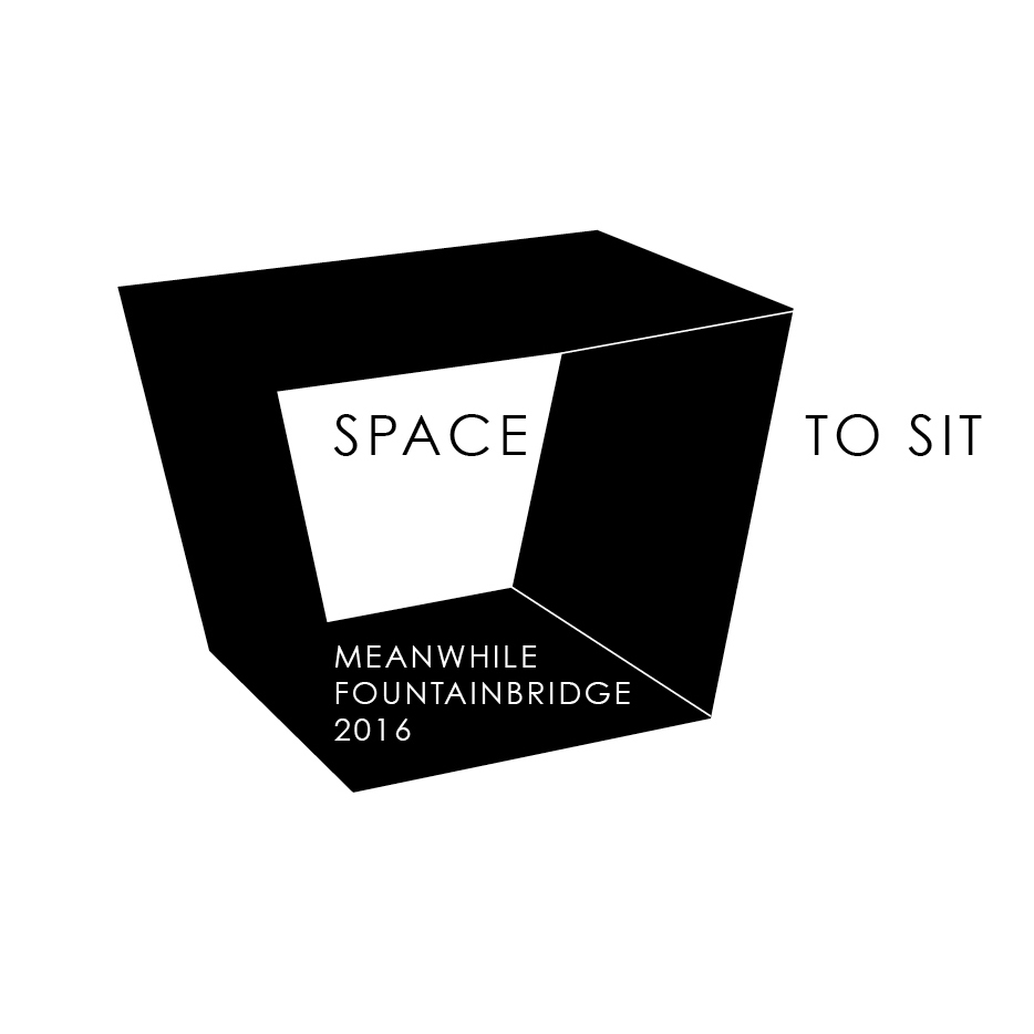 Space to Sit - Meanwhile Fountainbridge  ENGAGE | DESIGN | CURATE