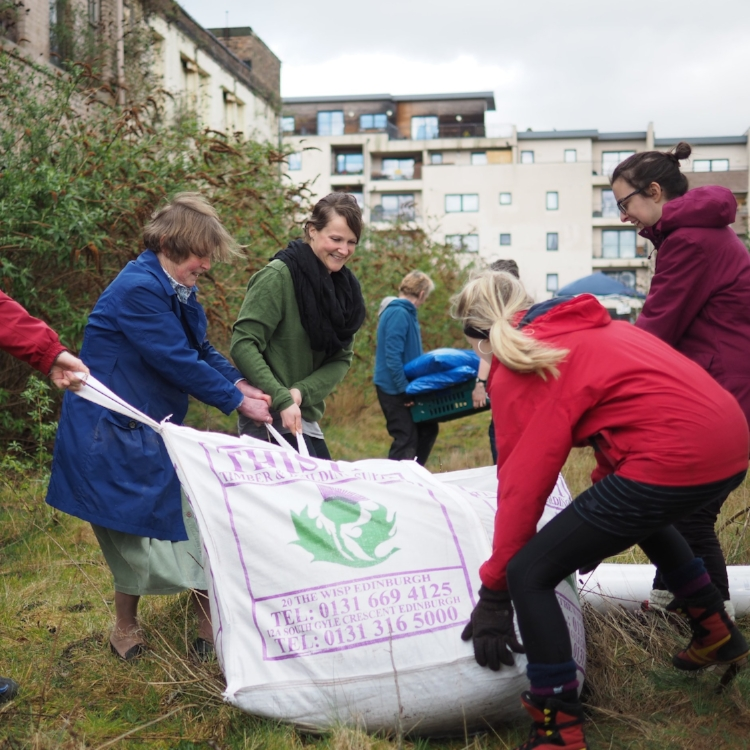 Granton:hub - co-design + build a community garden  ENGAGE | DESIGN