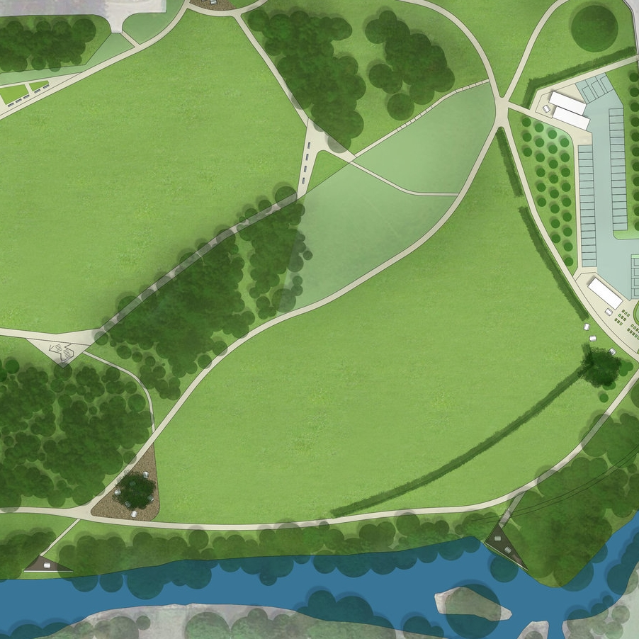 Herbertshire Castle Park Masterplan  ENGAGE | DESIGN