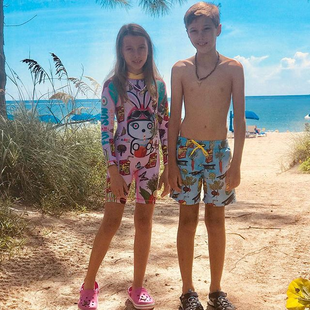 To the endless summer!! To the best walks on the beach, the sunsets, finding shells, Marco Polo in the pool, being buried on the sand, and to the best friendships.  Share your best moments with your #upf50 Krio Color Swimwear! #kriocolor #kidsfashion #kidswimwear #childrensswimwear #kidswear