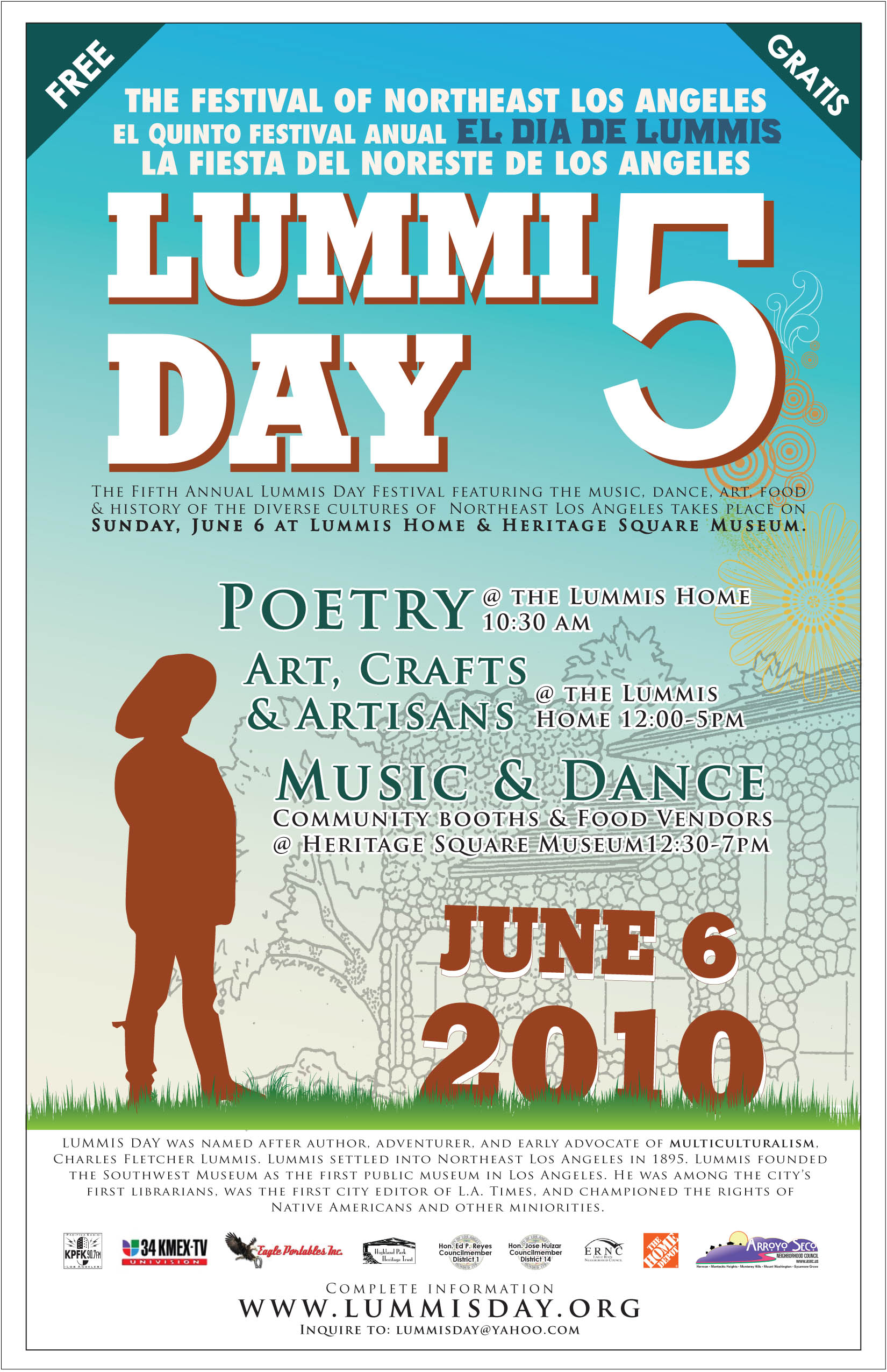 2010 Lummis Day Festival