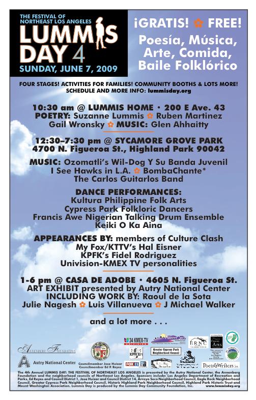 2009 Lummis Day Festival