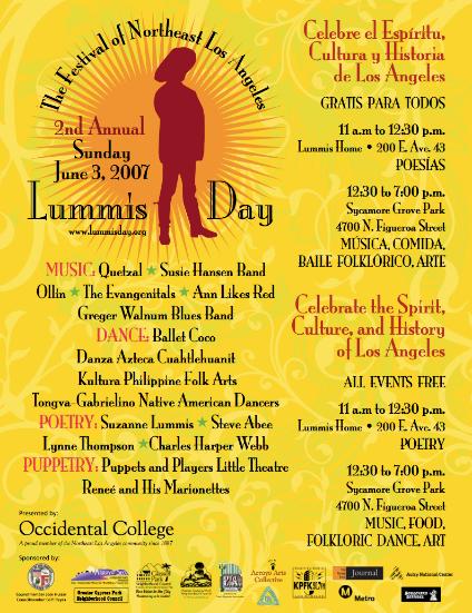 2007 Lummis Day Festival