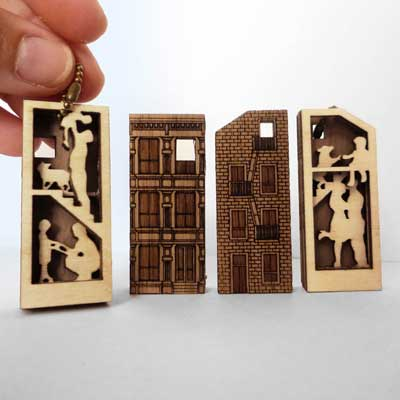 Vectorcloud's House Necklaces with custom families
