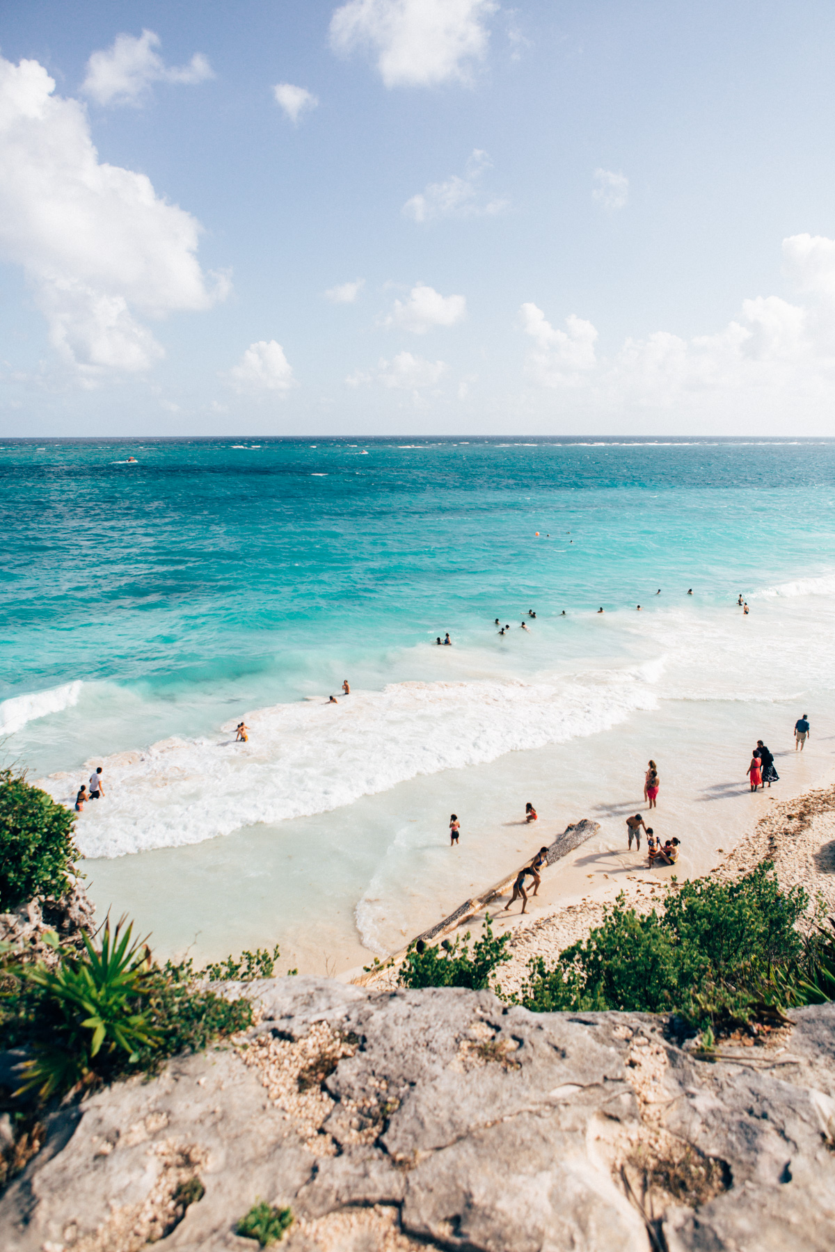 Tulum Beach, Mexico.