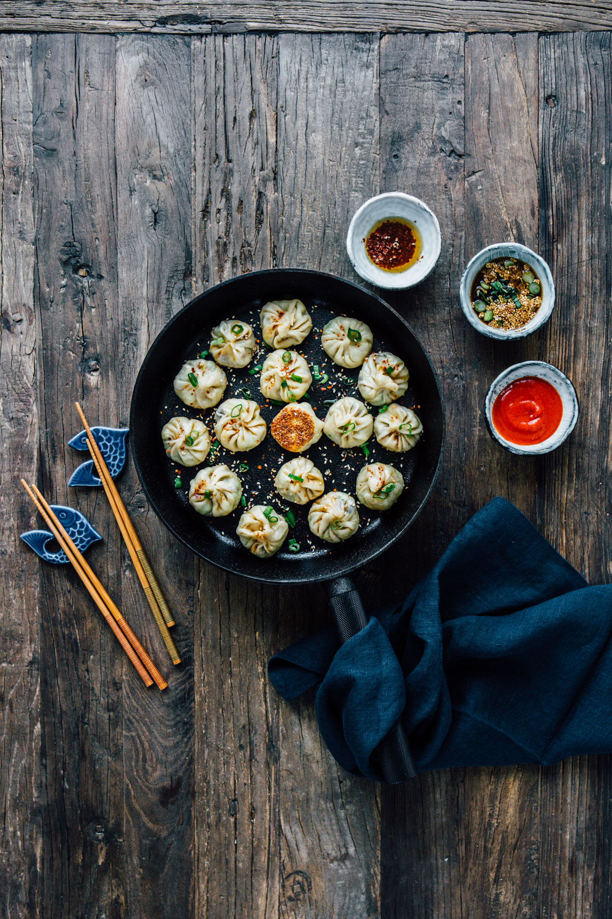 Homemade Vegan Dumplings - by Madeline Lu - @lumadeline