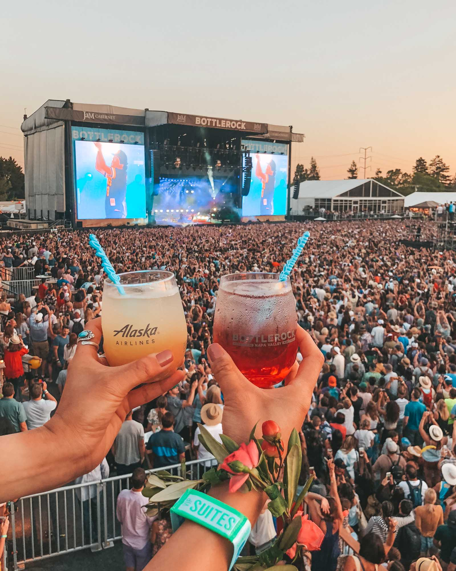 BottleRock with Alaska Air - by Madeline Lu