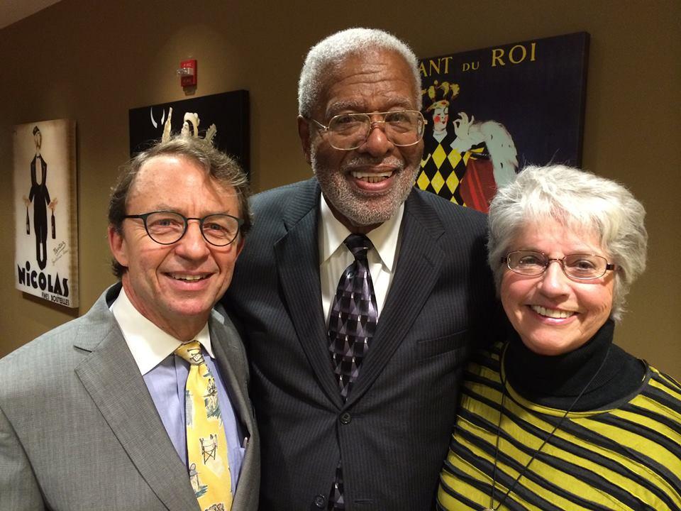 Bob Howard, Dr. Ernest Hartzog, Danice Brown