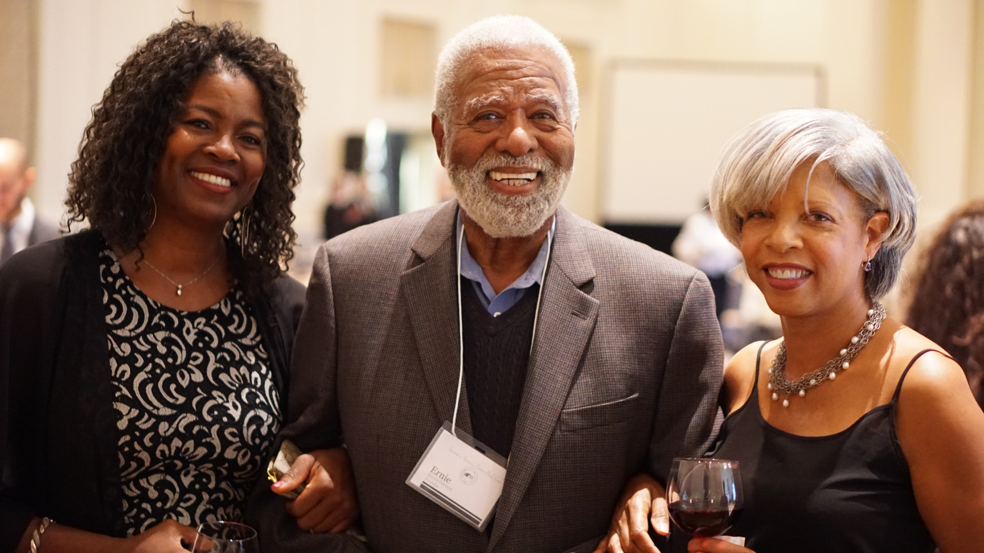 Dr. Ernest E. Hartzog, Founder - We are so fortunate to have a founder that is still closely involved with the organization and who's family continues to unconditionally provide support to the program. In this photo, Dr. Hartzog is pictured with his two daughters, Brenda and Sharon, at PT&E's 2017 Fall Gala.