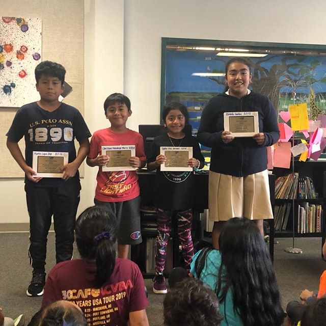 """We are proud to announce that 7 of our scholar athletes were selected as section winners of the 50th NJTL essay contest!  The topic of this years contest was """"what specific impact do you hope your chapter can make in your community today that you would want remembered 50 years from now?"""" Congrats to the winners Brenda, Martin, Christian, Sophia, Damion, Ema and Rosie!"""