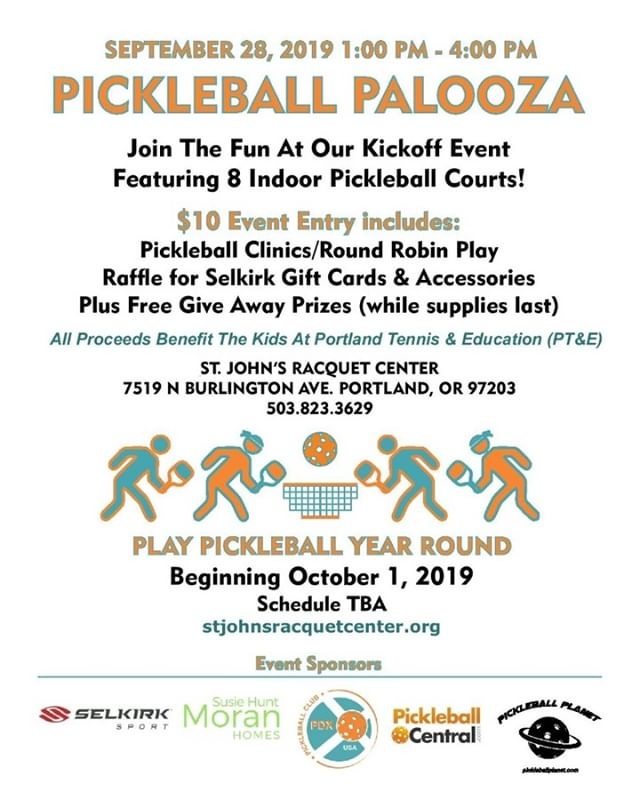 Join us tomorrow for our Pickleball Palooza kickoff event!!! This is your chance to share a fun experience with other Pickleball lovers or to learn more about the sport. There will be games, clinics, raffles, and many fun prizes. We cannot wait to see you tomorrow!! #pickleball #racquet #kickoff #fun #event