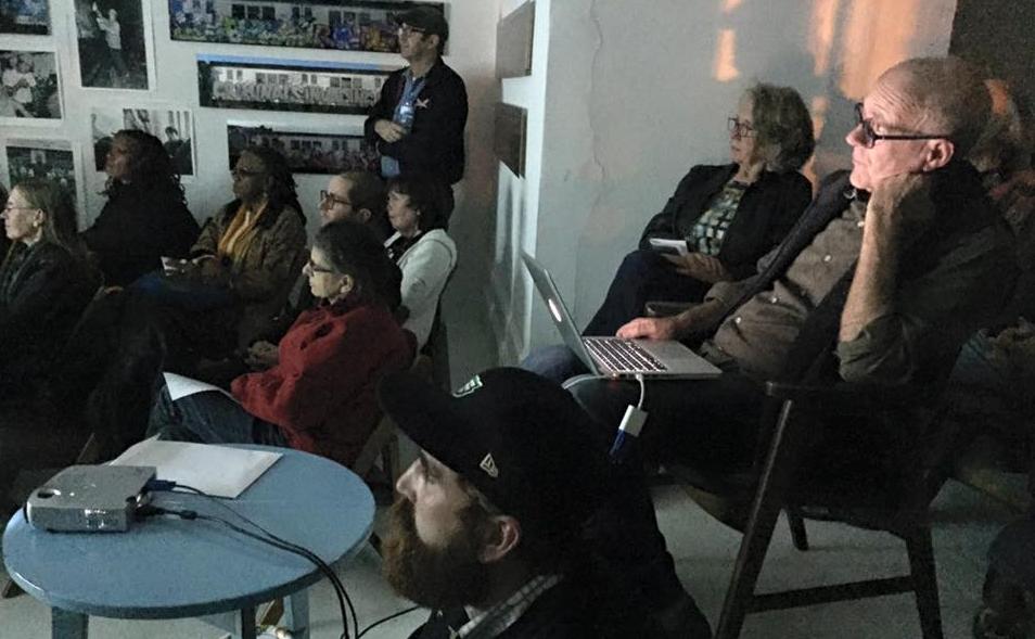 Artist Talk with Henry Chalfant (w/laptop)