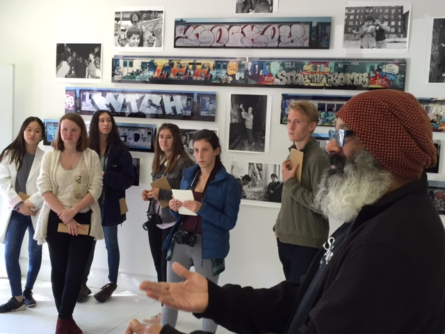 Germantown Friends School's Photography class visits the gallery
