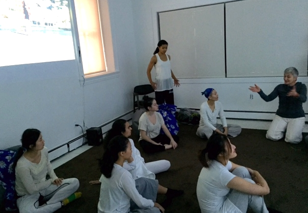 Corporeal Improvisation Class from Temple University