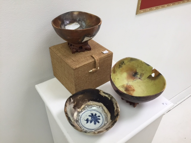Bowls by Jimmy Clark.