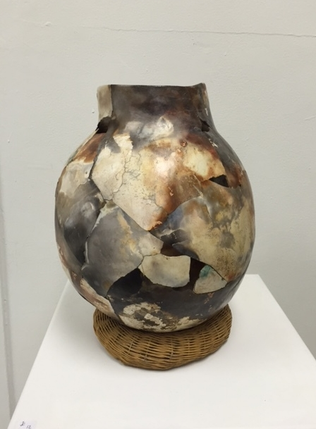 Reconstructed vessel by Jimmy Clark.