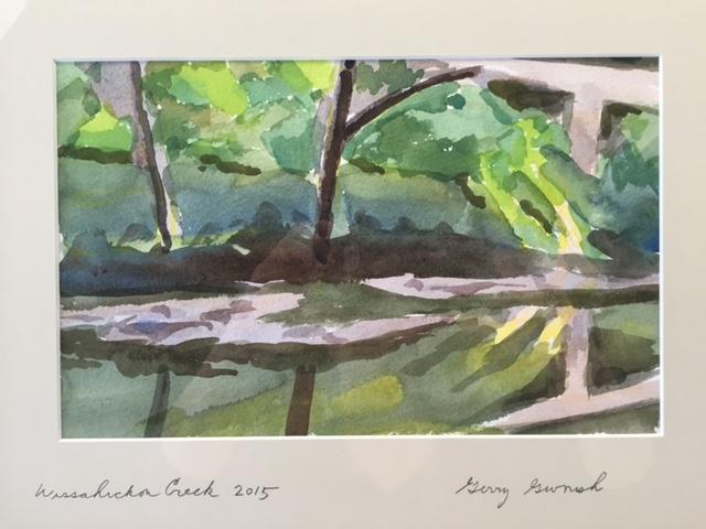 Wissahickon Creek series.