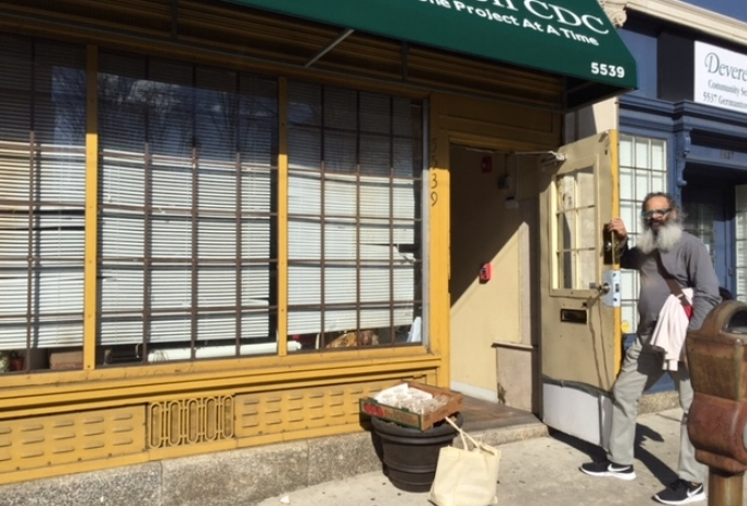 The new digs! 5539 Germantown Ave. Phila. PA 19144