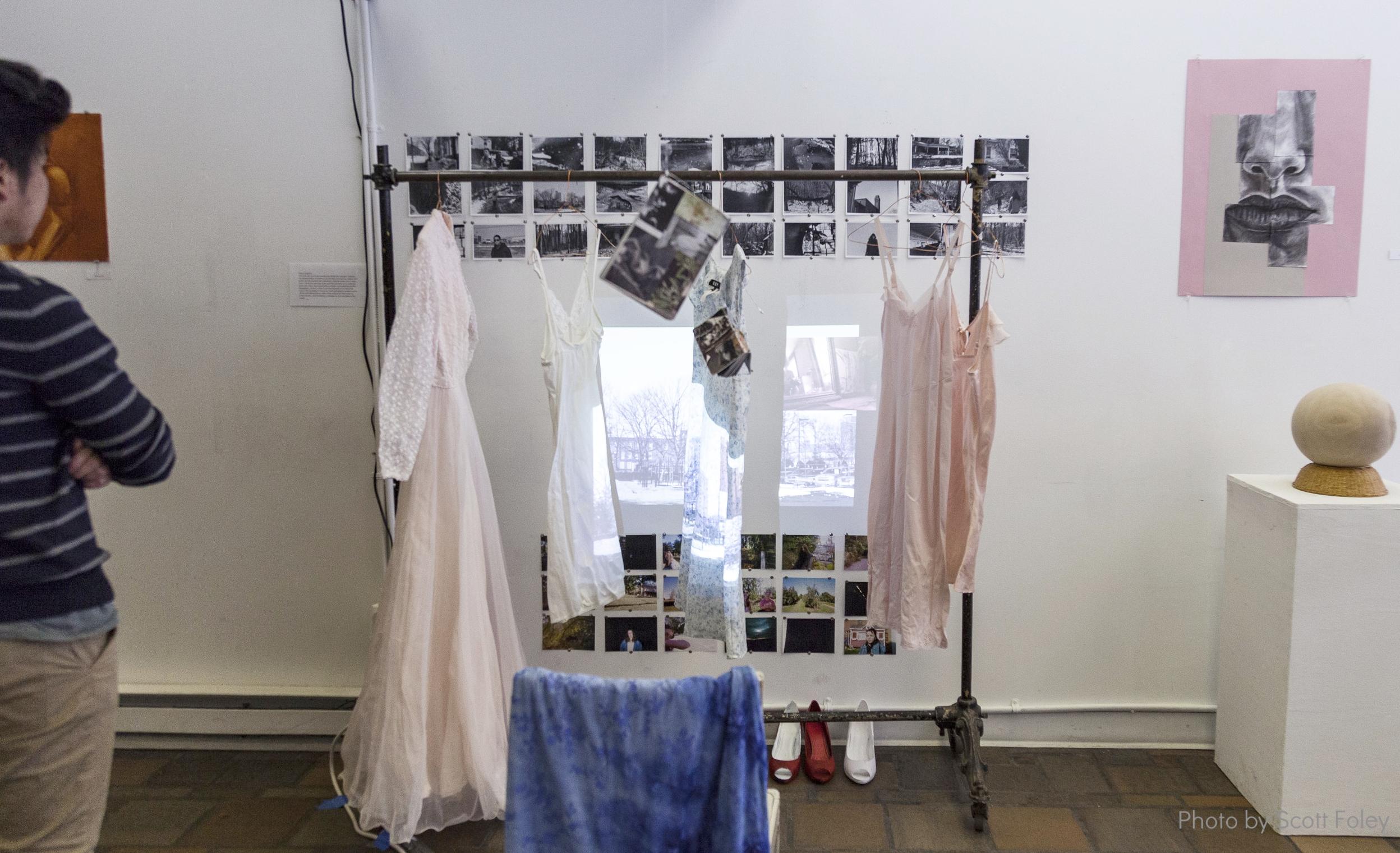 Emily Ecclestone's installation