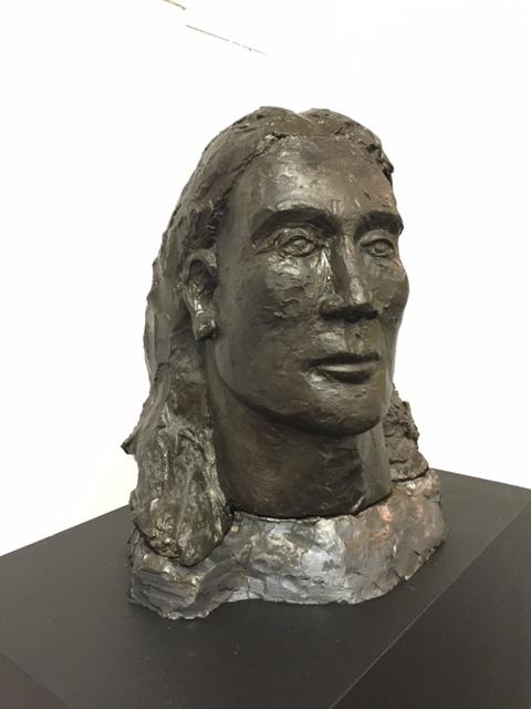 Crazy Horse   1978, carved plaster