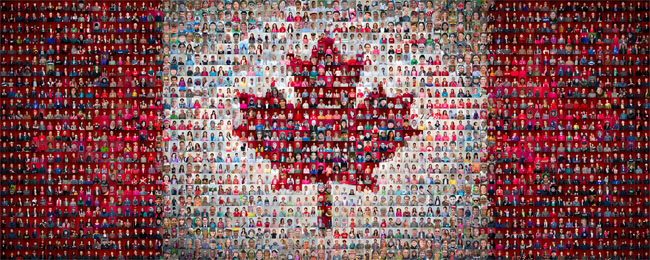 The Canadian Mosaic Project by Tim Van Horn
