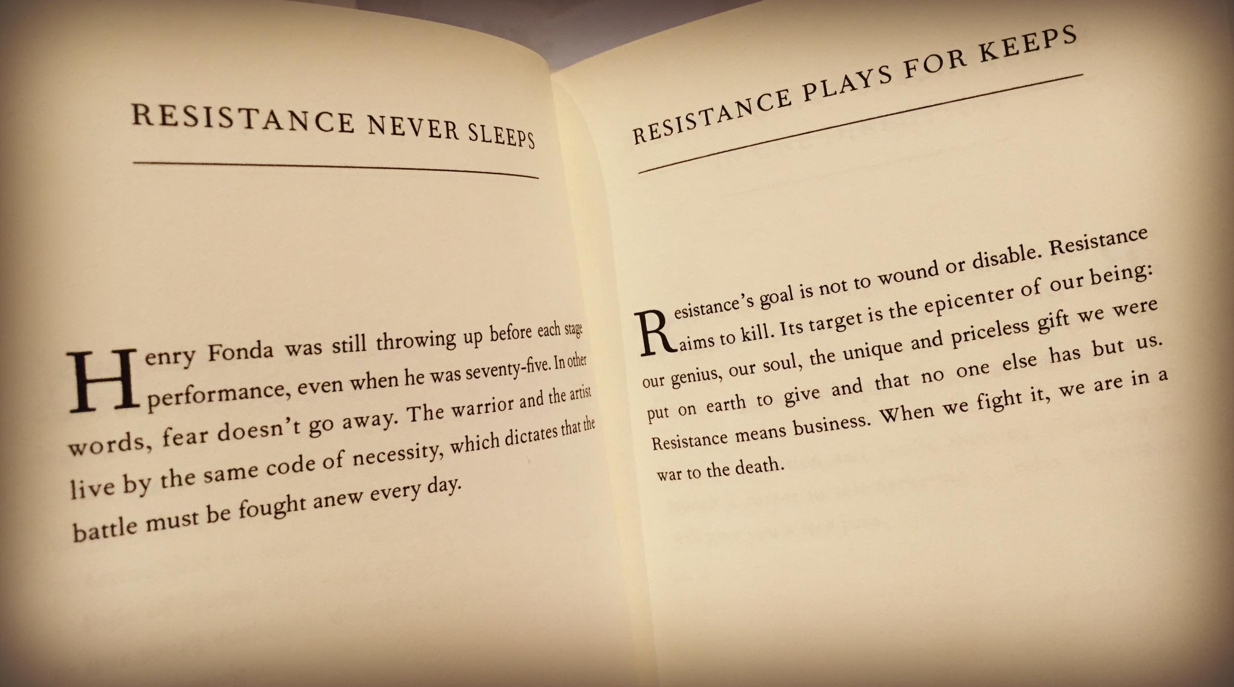 the war of art by Steven Pressfield - Get it. Read it. memorize it.