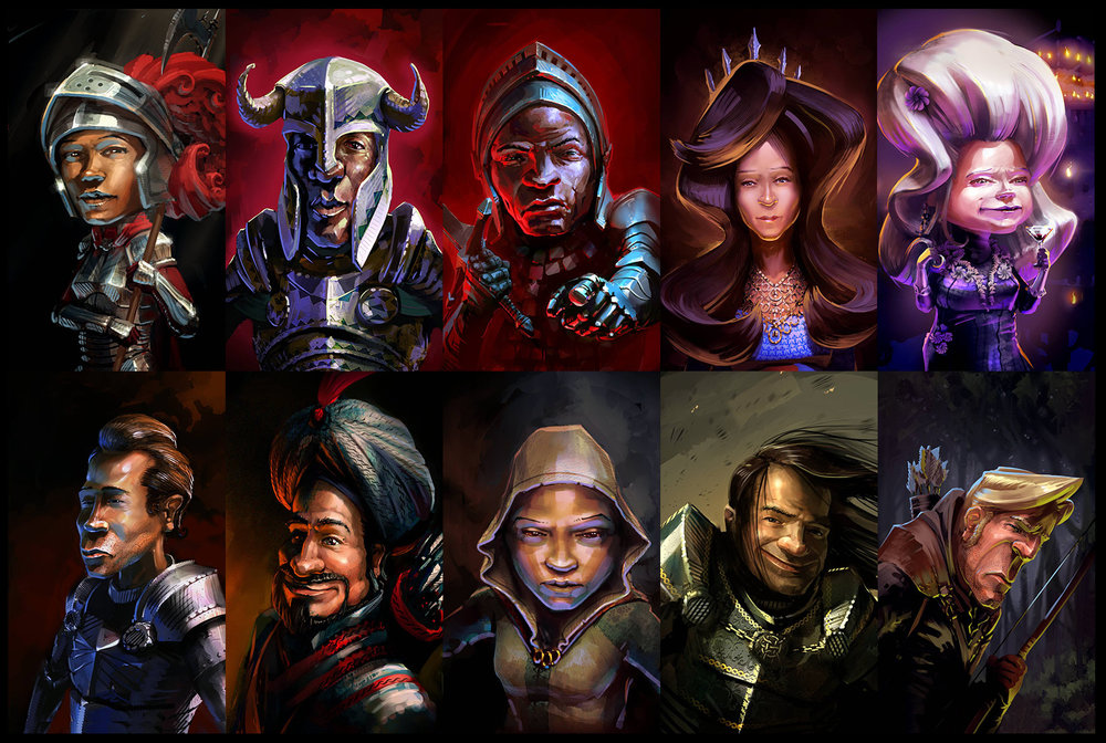 "Character Portraits Set#2 — ""Realm of Empires"""