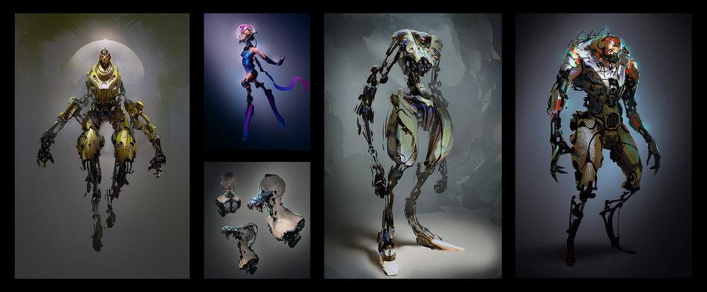 Beyond Human: Sci-Fi Concept Art