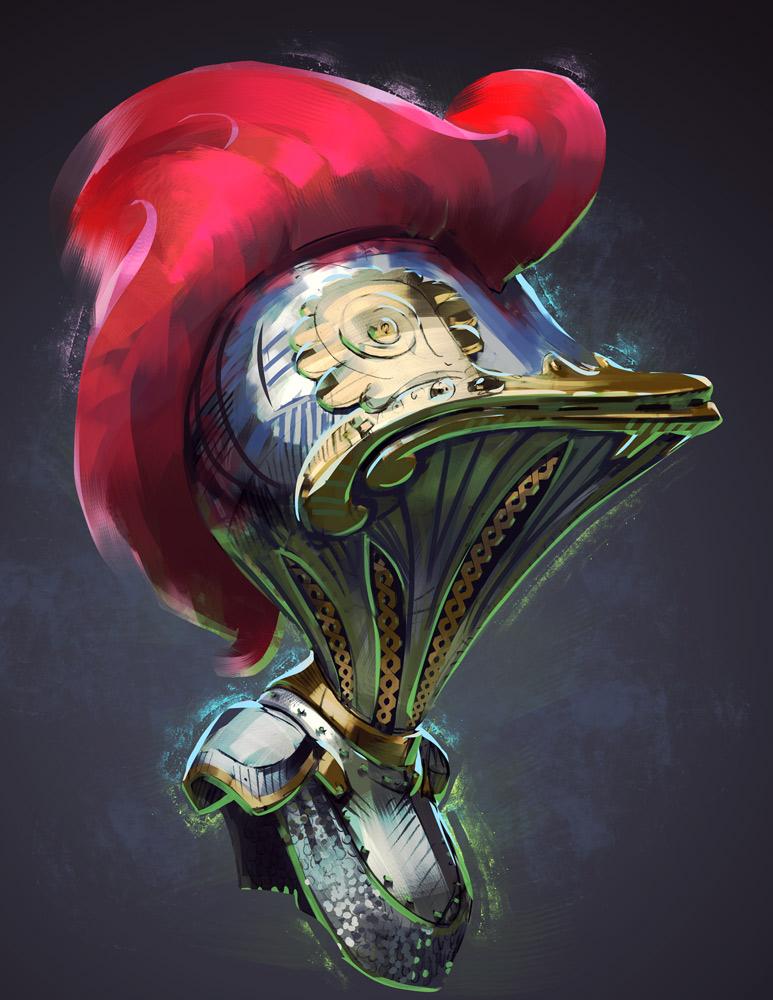 A Fowl Knight's Armor