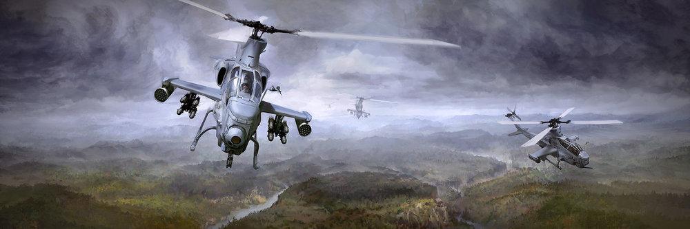 AH-1Z Viper Art