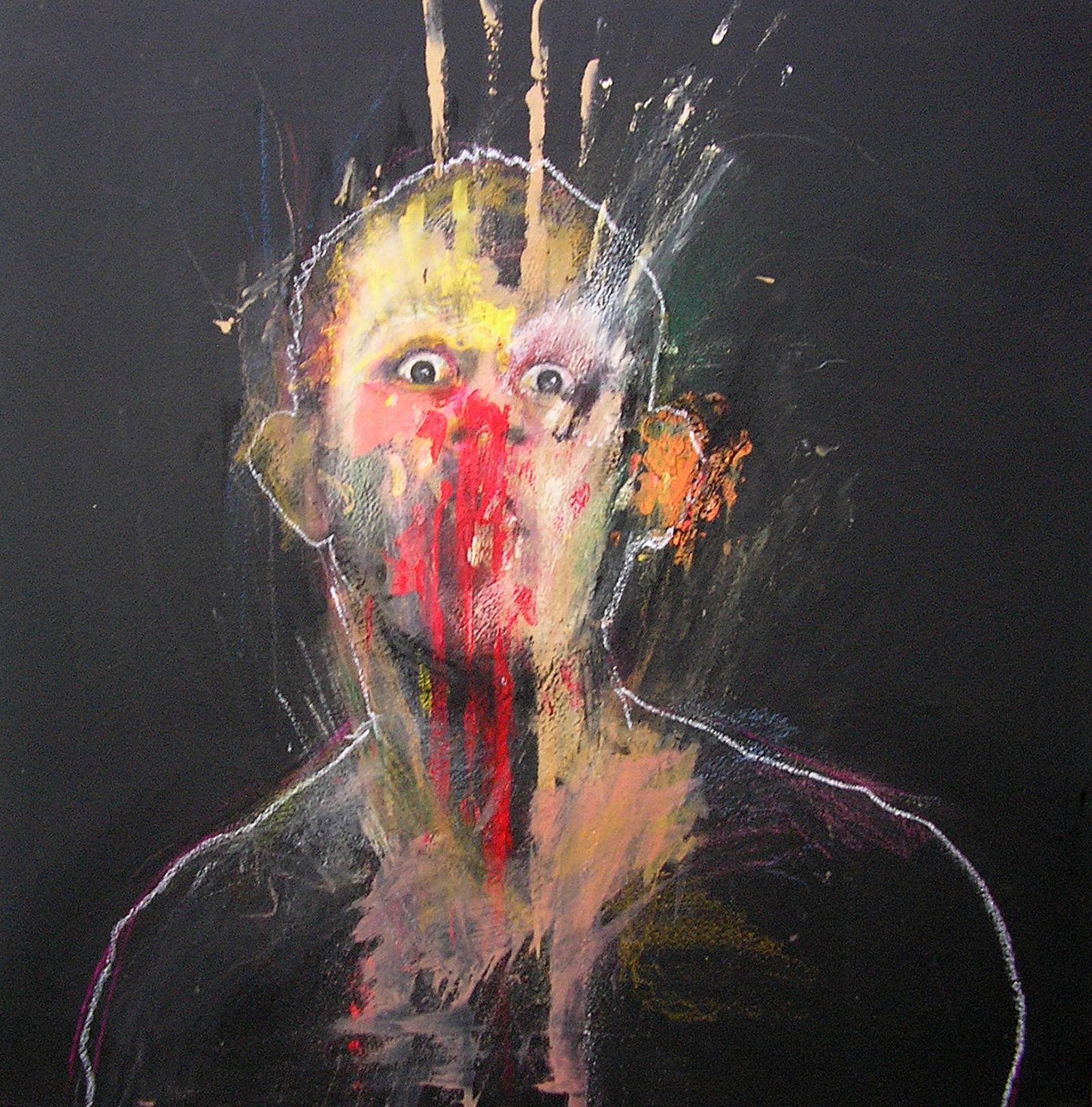 Retratos de la locura III [selfportrait]