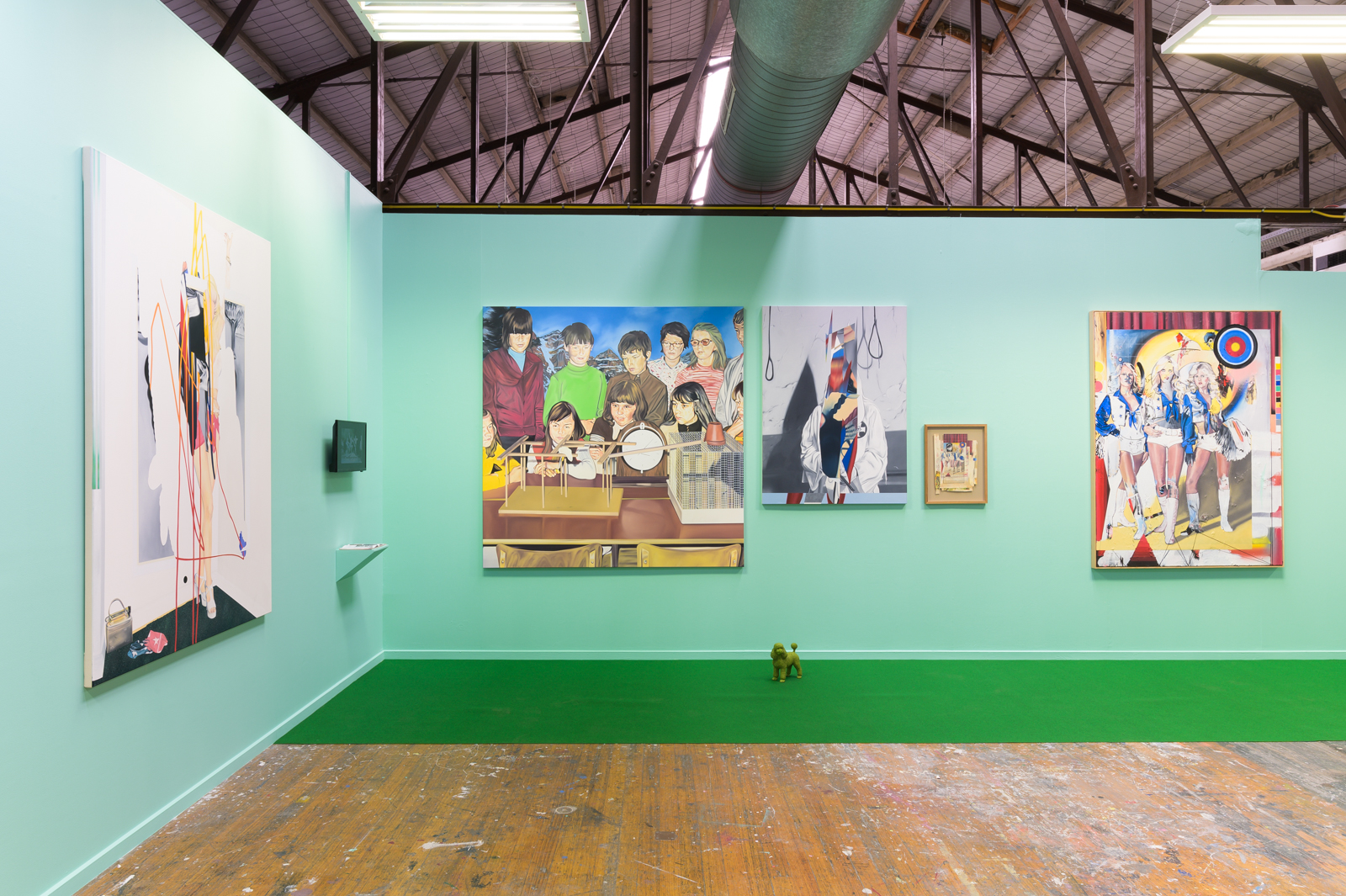 Installation view of The Secret Doctrine. Victorian College of the Arts, University of Melbourne. 2019. Photo by Aaron Christopher Rees.