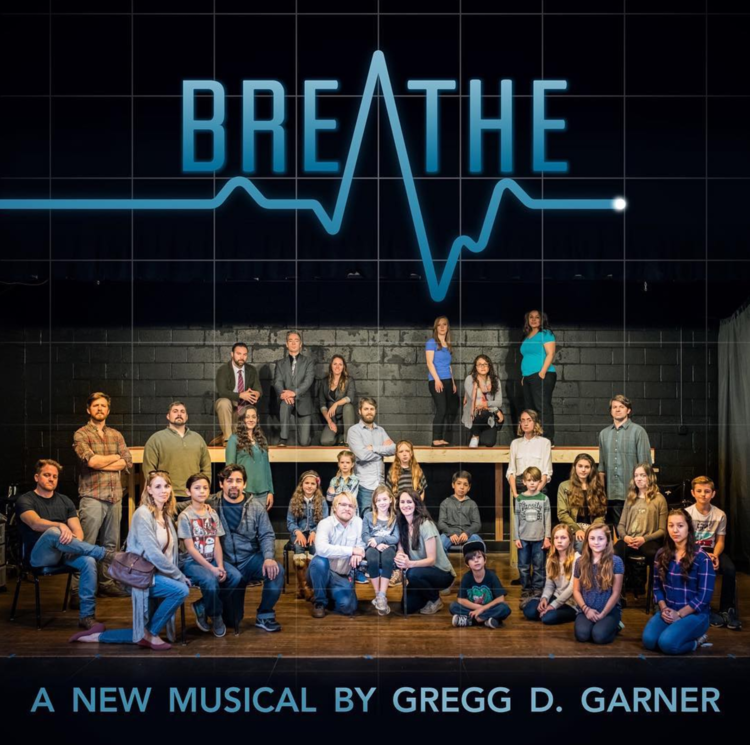 BREATHE, A New Musical runs March 2nd-12th at the Arts at Center Street, with 7pm shows on Thursday-Sunday evenings, 2pm matinees on both Saturdays and 3pm on Sundays.