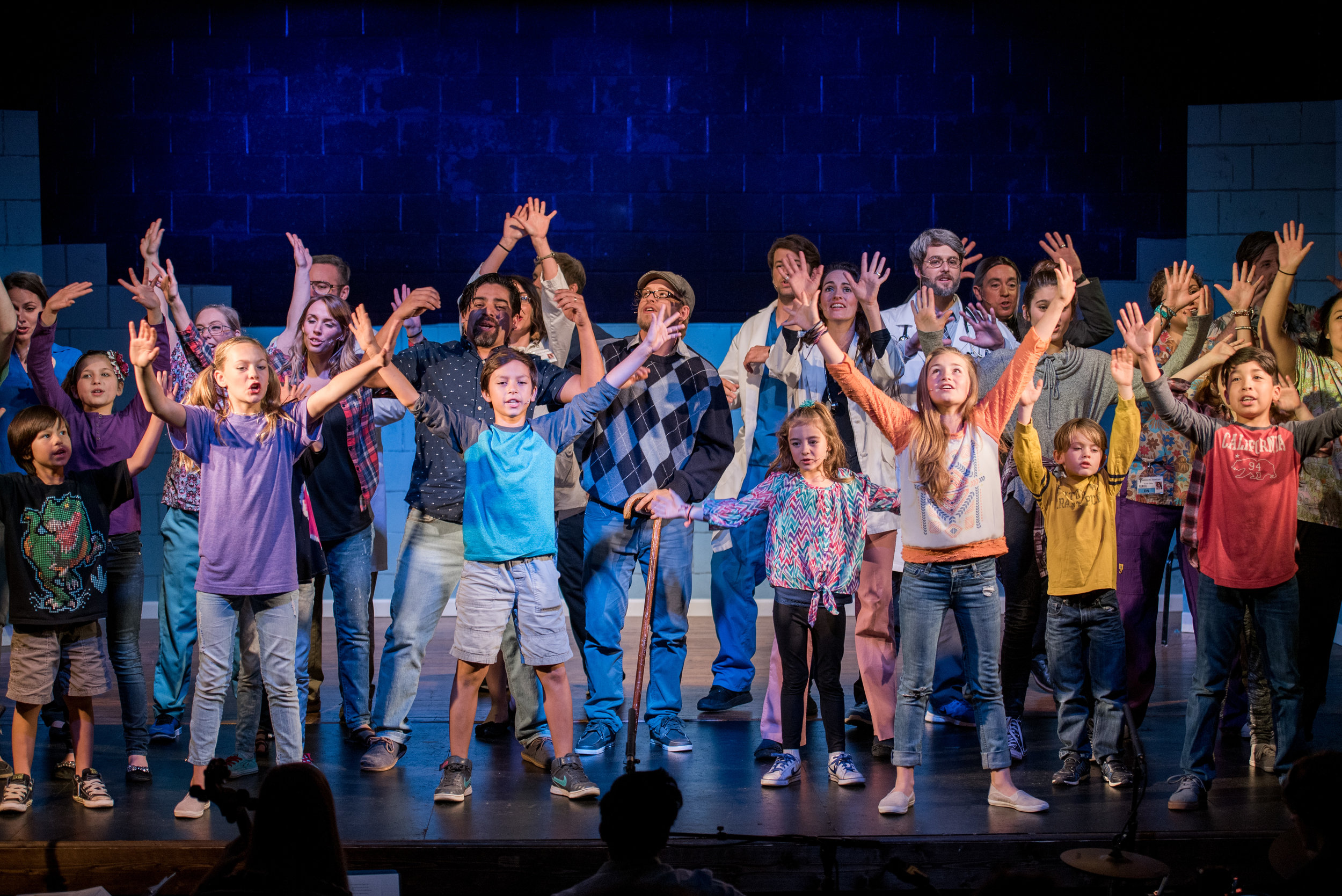 BREATHE, A New Musical celebrates the possibility for life and joy even amidst trials and suffering. The story gives voice to the stories of many who deal with very difficult situations.