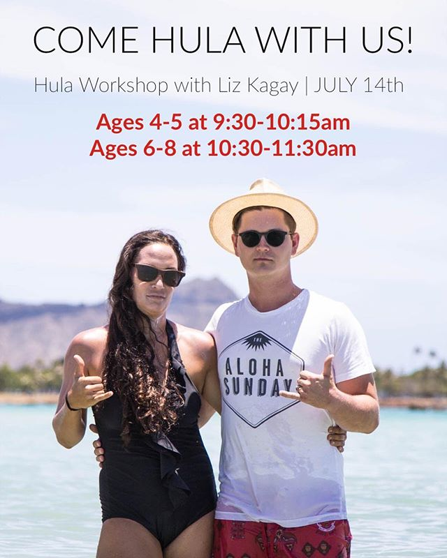 It's not too often you get someone as cool as Liz Kagay into the dance studio! But we win, because she's coming to ours July 14 for TWO hula workshops! To register your girls, visit our website (link in bio). Cost of workshop for 4-5 year olds is $10, 6-8 year olds is $15. • • • *For those who have already registered, you will receive information this week with drop-off, pickup and other associative details. Registration remains open until the class is full! #centerstreetdanceacademy #theartsatcenterstreet #original #meaningful #local