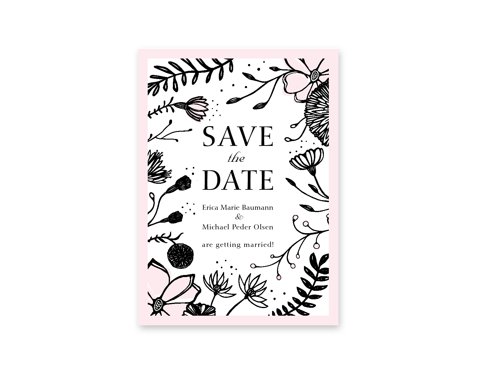 Erica and Michael Save the Date