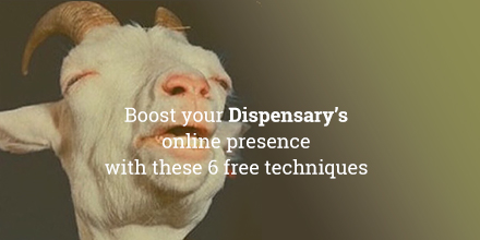 Boost your dispensary's online presence with these 6 free SEO techniques.