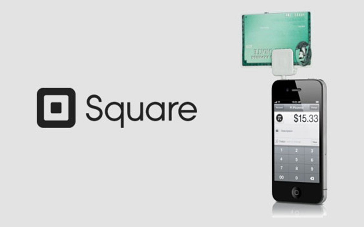 Square is for accepting credit cards.